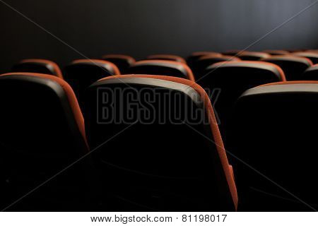 Seats in the cinema
