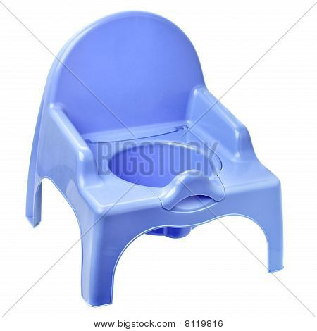 Blue Potty