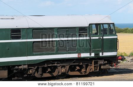 Diesel Engine Train.