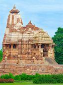 image of khajuraho  - Temple in Khajuraho - JPG