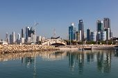 pic of kuwait  - Skyline of Kuwait City Middle East - JPG