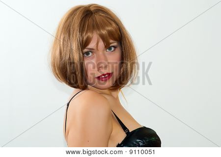 Portrait Of Young Sexy Woman