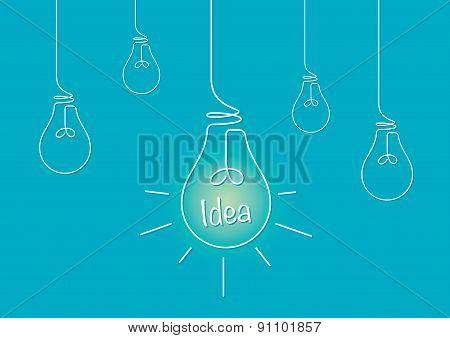Lightbulbs And An Idea
