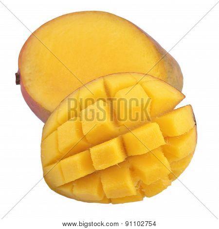 Mango On White Background