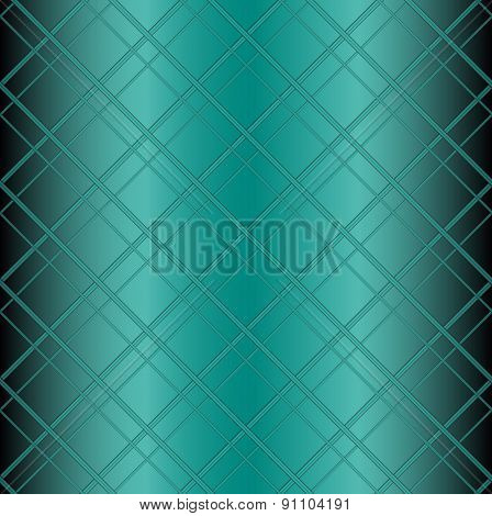 Sraight blue grid background vector