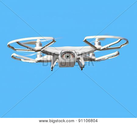 Eye on the sky. Drone is new tool for aerial photo and video.