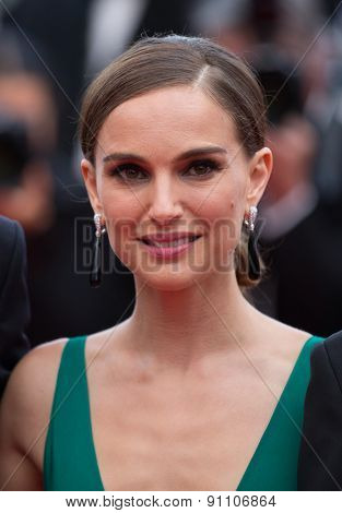 Natalie Portman and guests attend the 'Sicario' Premiere during the 68th annual Cannes Film Festival on May 19, 2015 in Cannes, France.