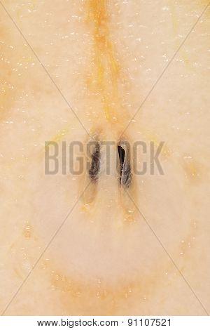 Sliced Pear Closeup