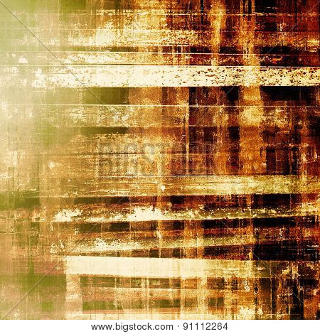 Art grunge vintage textured background. With different color patterns: yellow (beige); brown; gray; green