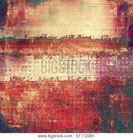 Abstract old background with rough grunge texture. With different color patterns: yellow (beige); brown; purple (violet); red (orange)