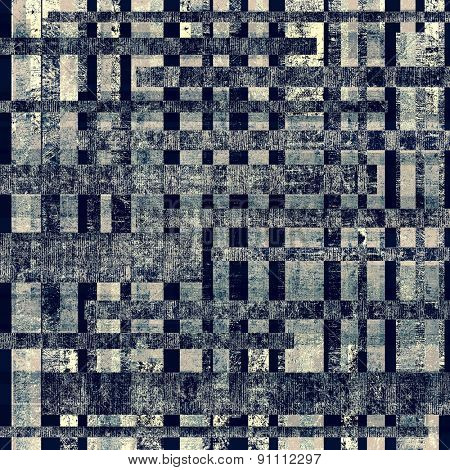 Old texture with delicate abstract pattern as grunge background. With different color patterns: gray; black; blue