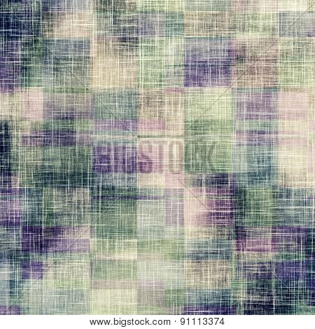 Grunge aging texture, art background. With different color patterns: brown; gray; green; purple (violet)