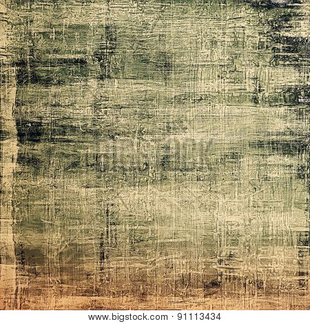 Grunge background or texture for your design. With different color patterns: yellow (beige); brown; gray; black