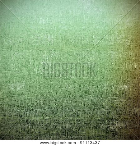 Grunge aging texture, art background. With different color patterns: brown; gray; green
