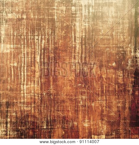 Aged grunge texture. With different color patterns: yellow (beige); brown; gray