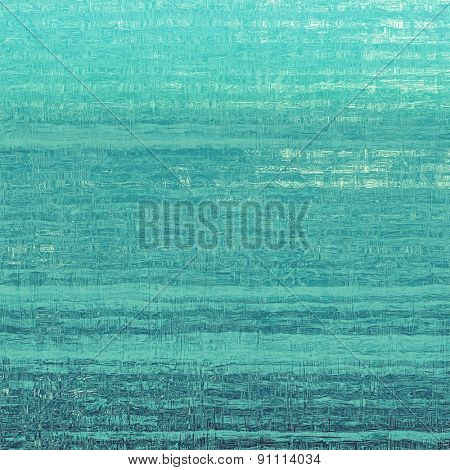 Grunge retro vintage texture, old background. With different color patterns: blue; cyan