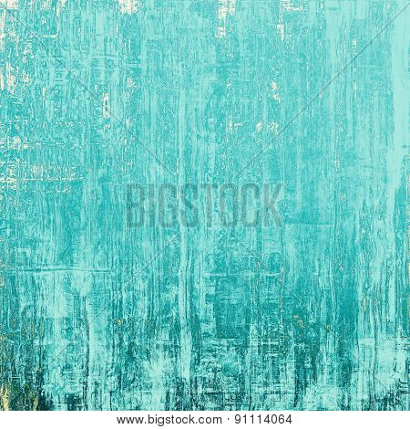Grunge texture, distressed background. With different color patterns: gray; blue; cyan