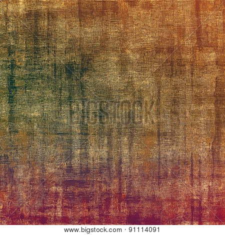 Old texture with delicate abstract pattern as grunge background. With different color patterns: yellow (beige); brown; green; purple (violet)