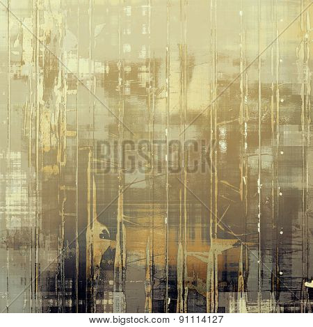 Old antique texture - perfect background with space for your text or image. With different color patterns: yellow (beige); brown; gray; black