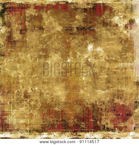 Grunge old texture as abstract background. With different color patterns: yellow (beige); brown; gray
