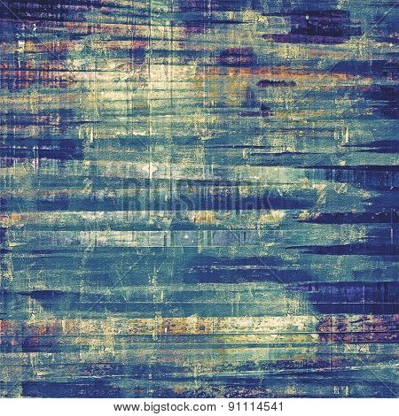Grunge background or texture for your design. With different color patterns: brown; gray; blue; cyan