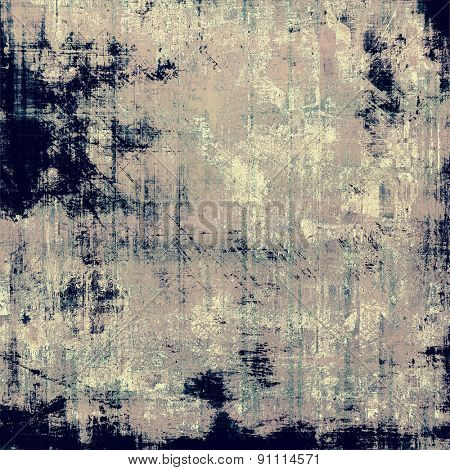 Antique vintage texture, old-fashioned weathered background. With different color patterns: brown; gray; blue