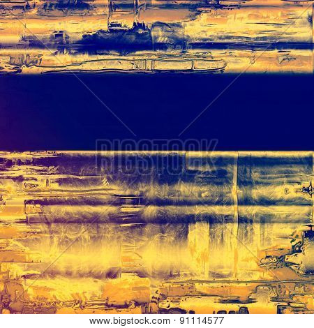 Art grunge vintage textured background. With different color patterns: yellow (beige); brown; blue; purple (violet)