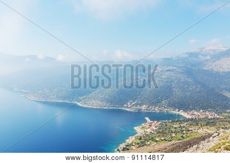 Beautiful island Kefalonia  in Greece