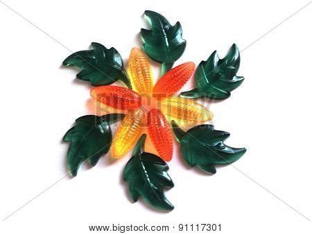 Pattern of leaves