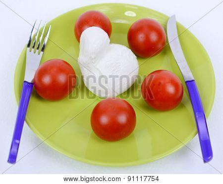 Mediterranean Diet Tomato And Mozzarella