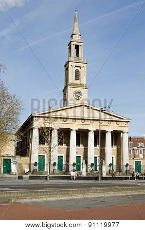 St John's Church, Waterloo, London