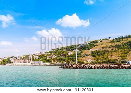 Landscape Of Kavarna, Coastal Town In Bulgaria