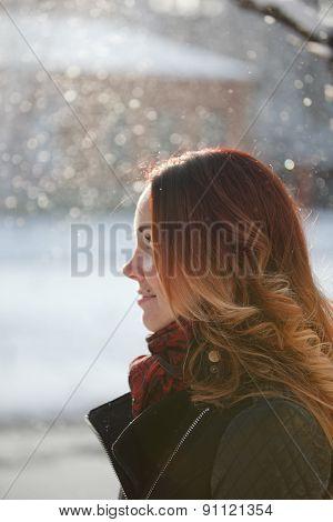 Beautiful Girl With Beautiful Long Hair