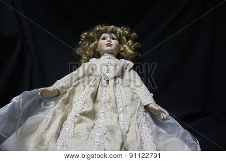 Creepy Antique Doll