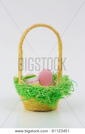 Easter Egg With Beautiful Motive
