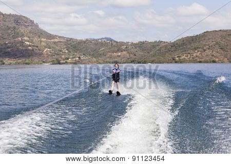Water SKiing Girl