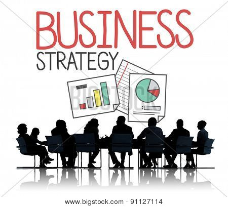 Business Strategy Marketing Planning Corporate Concept
