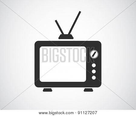 tv icon design