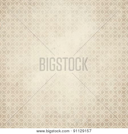 Old Paper Background With Abstract Pattern