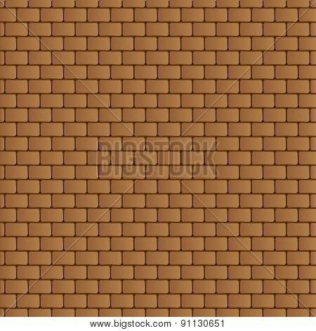 brick wall - Vector texture