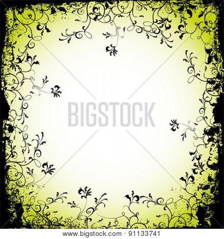 abstract flores vector