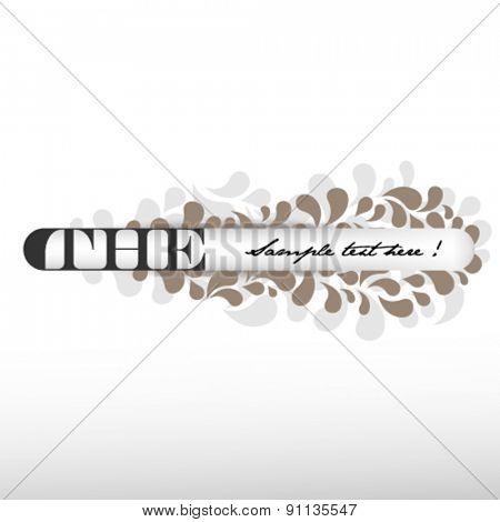 feminine vector banner design