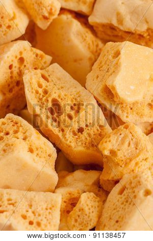 Honeycomb Toffee