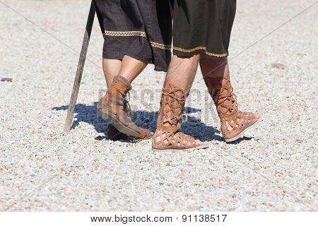 Caligae Ancient Roman Shoes
