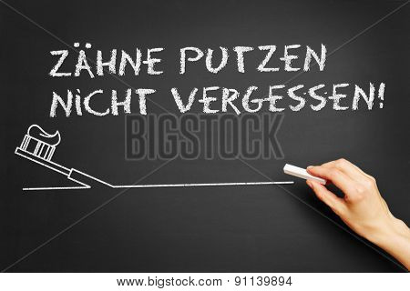 Hand writing in German