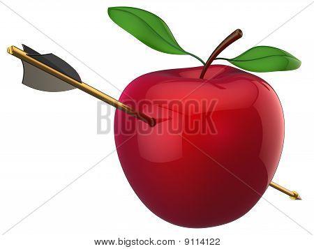 Apple hit by arrow (Hi-Res)