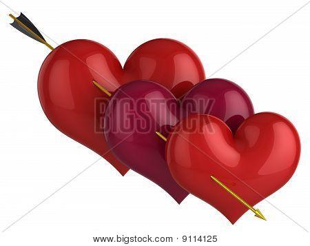 Triplex love concept (Hi-Res)