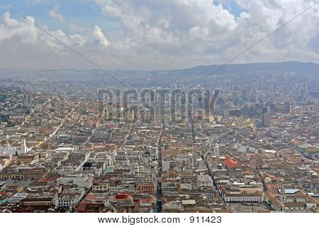 View On Quito City. Eciador