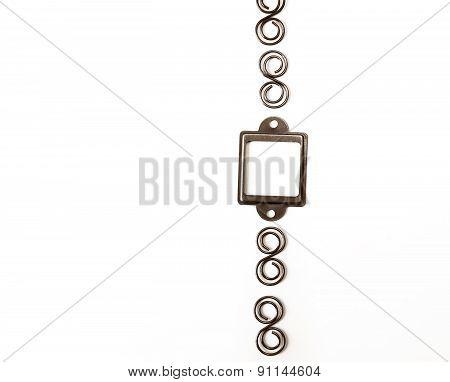 Design Element, Frame On A White Background