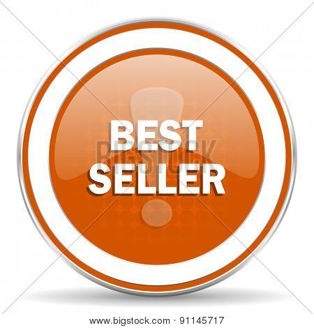 best seller orange icon